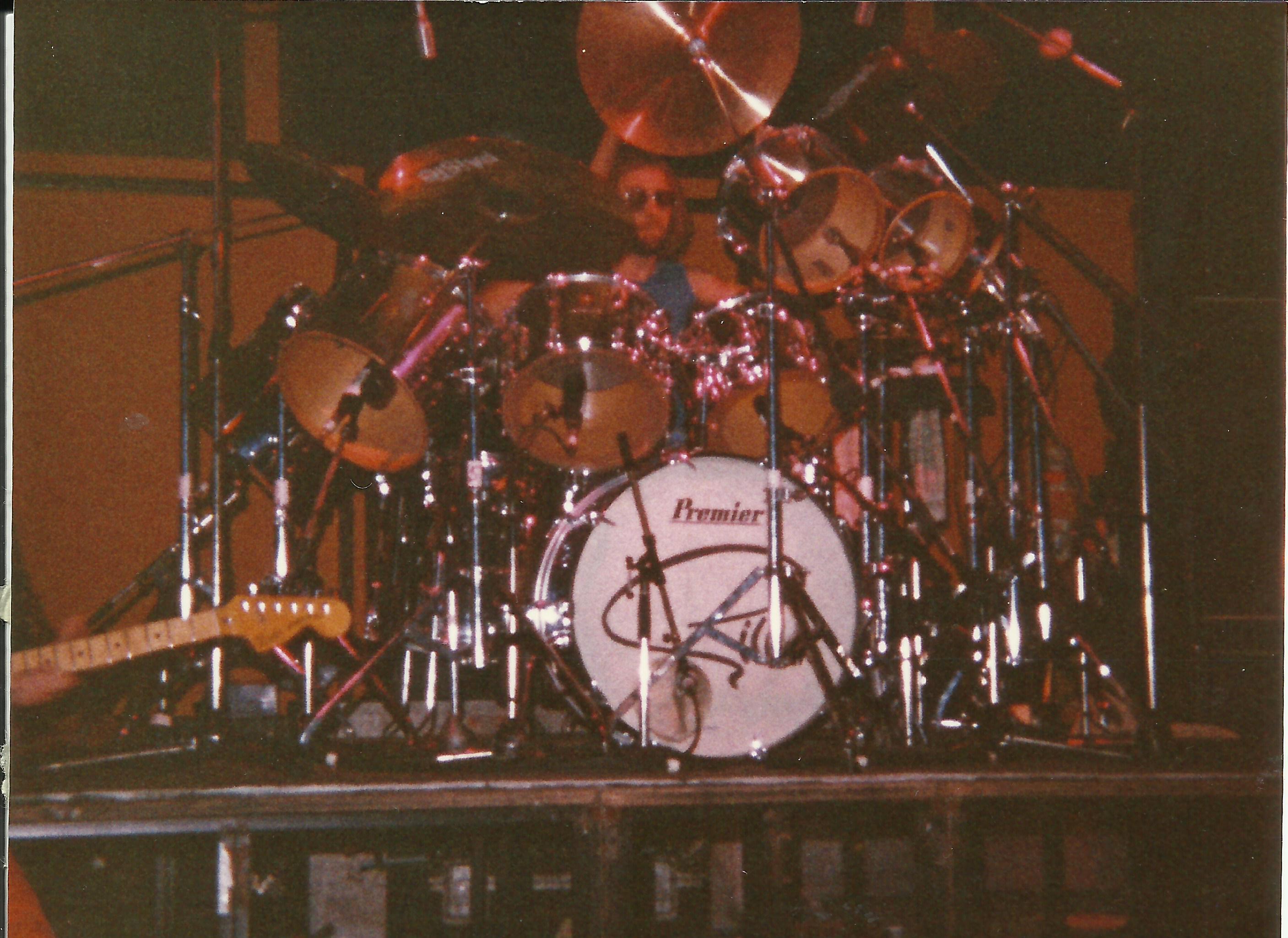Himangan Urheilutalo 1981 / Mick Underwood, Ian Gillan Band