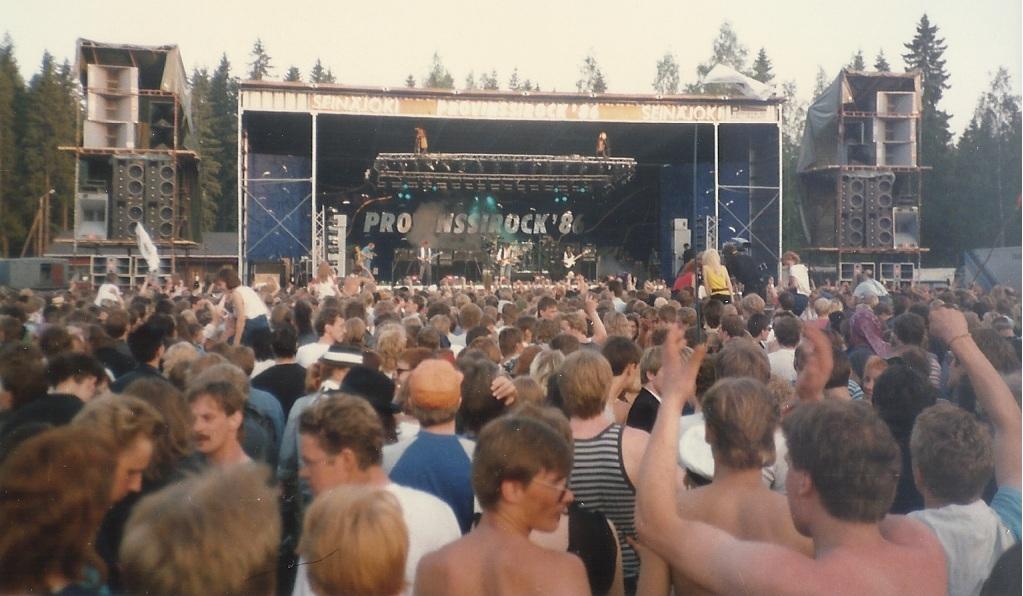 Provinssirock 1986 / Big Country