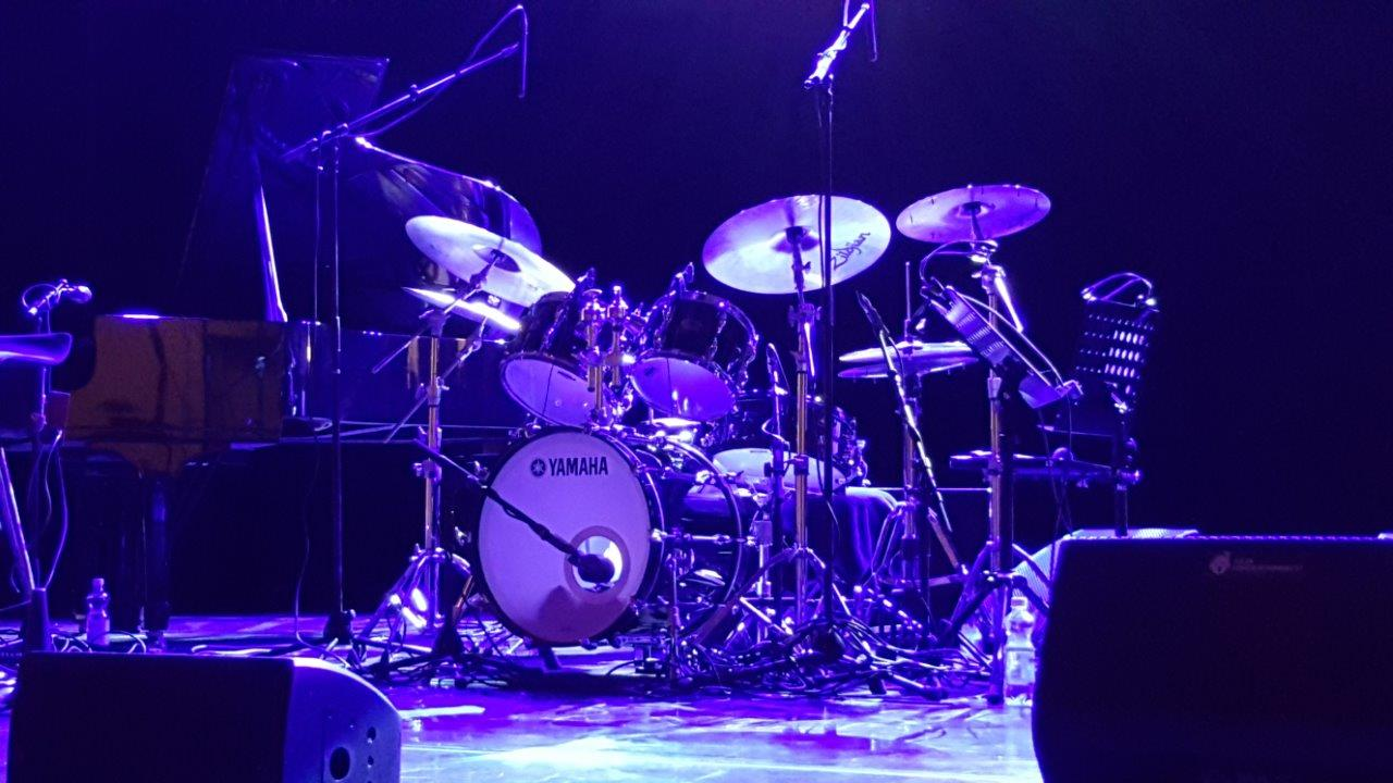 Steve Gadd's drumset
